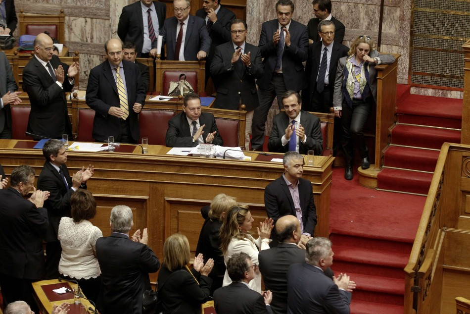Greece approves austerity measures