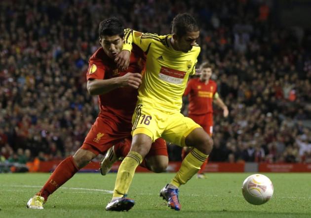 Liverpool v Anzhi