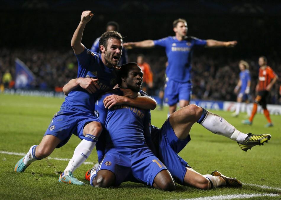Chelsea v Shakhtar Donetsk