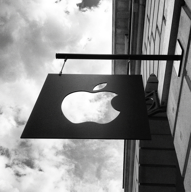Apple sign