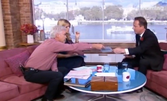 Cameron receives list from Schofield