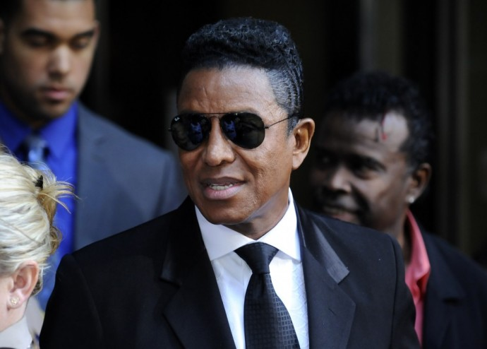 Michael Jackson's brother Jermaine Jackson leaves the sentencing hearing of Dr. Conrad Murray, who was convicted of manslaughter in the death of pop star Michael Jackson, in Los Angeles