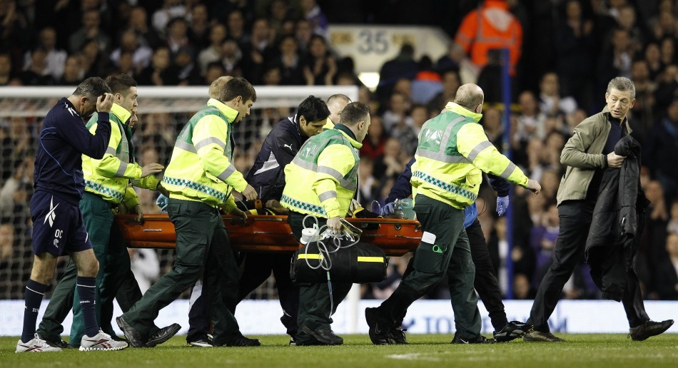 Fabrice Muamba was taken to the London Chest Hospital