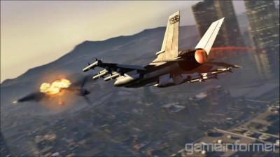 GTA V Jet
