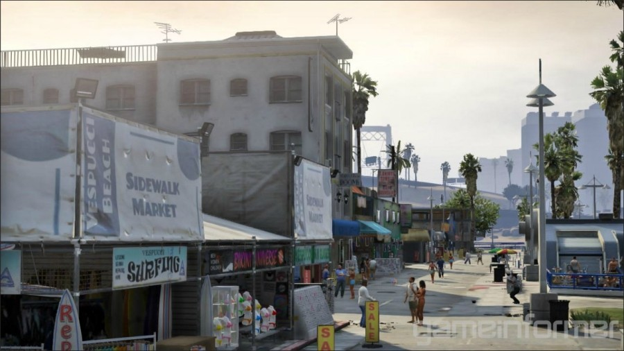 GTA V surf beach