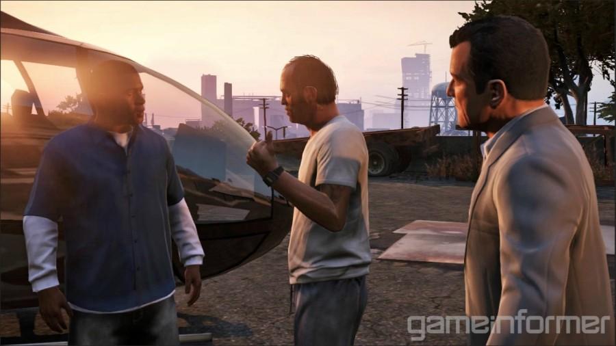 GTA V characters