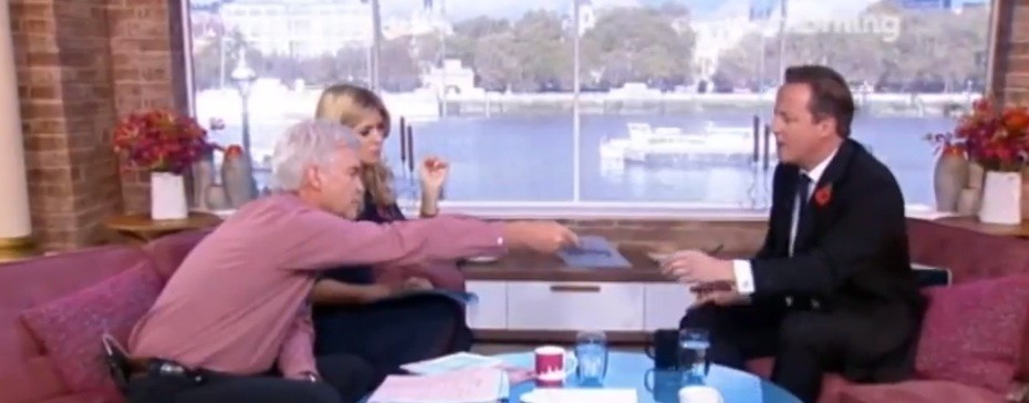 "MPs described Phillip Schofield's ambush as a ""silly stunt"" (ITV)"