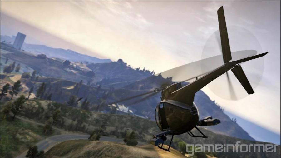 GTA V landscape