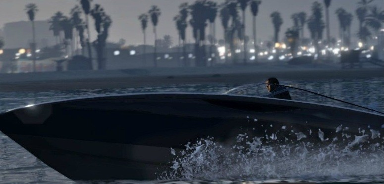 GTA V speedboat
