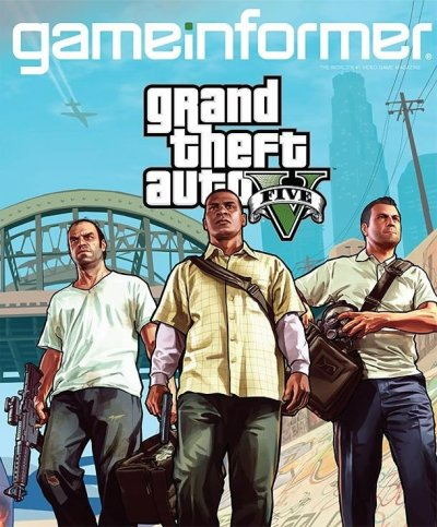 GTA V Game Informer cover