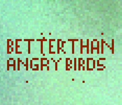 Curiosity Angry Birds