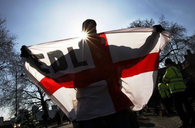 The EDL are planning to meet in Norwich for a march towards City Hall (Reuters)