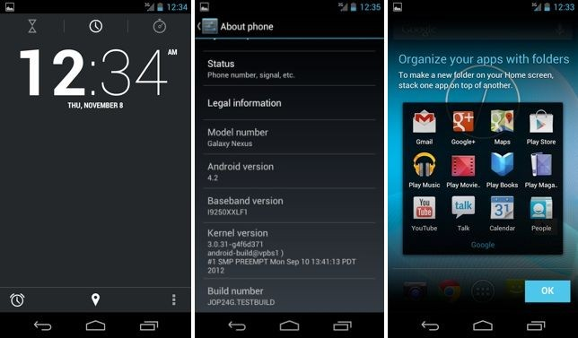 Install Android 4.2 – 4.1 Combo-Build on Galaxy Nexus [How to Install]