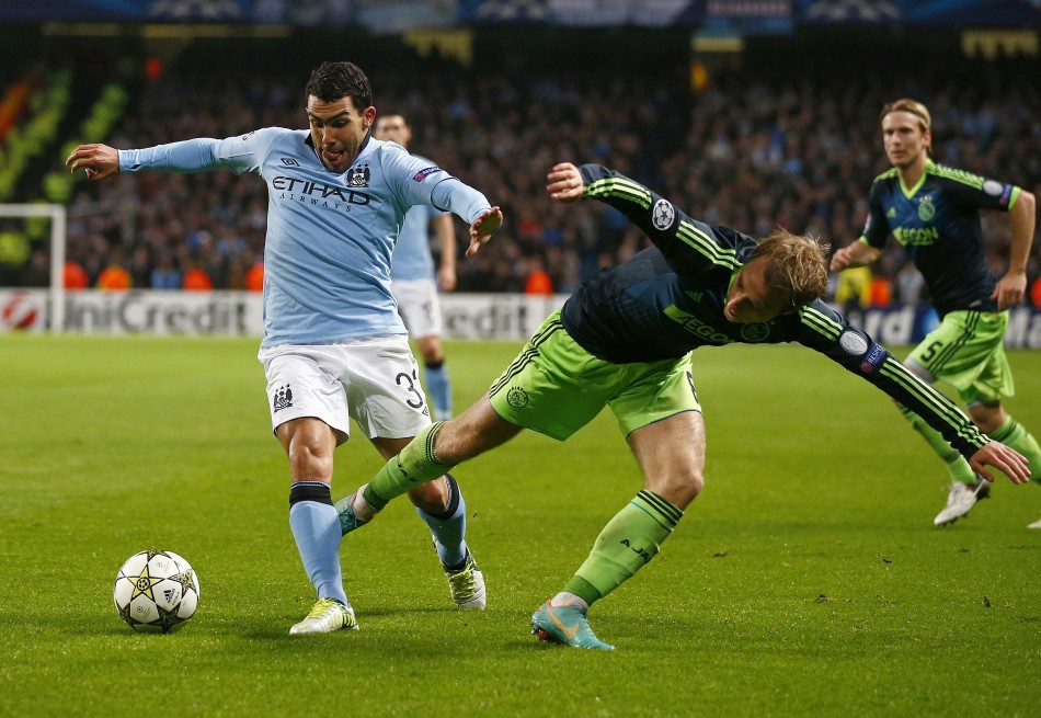 Manchester City v Ajax