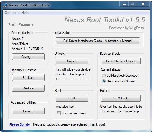 Restore Nexus 7 to Stock Android 4.1.2 and Prepare for Android 4.2 Upgrade [GUIDE]