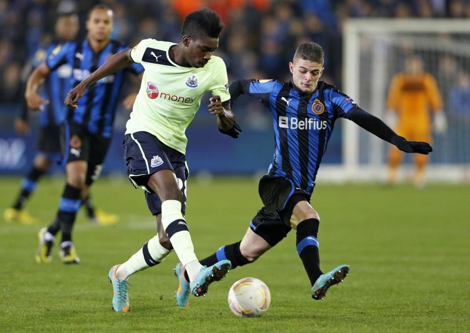 Newcastle United v Club Brugge