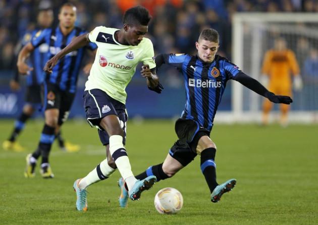 Club Brugge vNewcastle United
