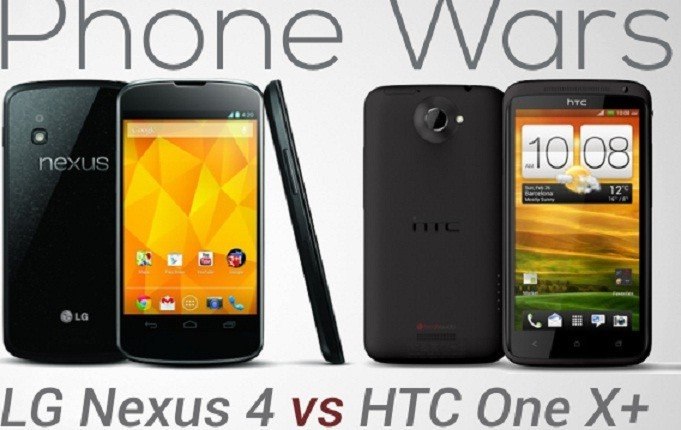 Nexus 4 Vs HTC One X
