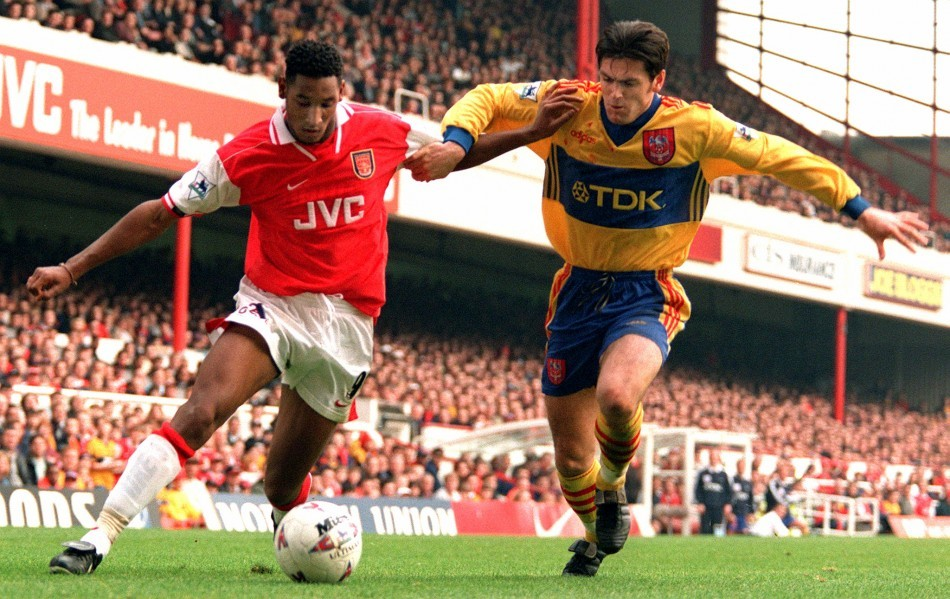 Nicolas Anelka during his Arsenal days