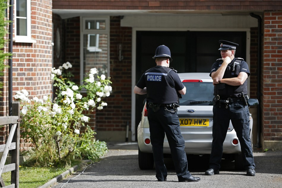 Police at London home of Saad al-Hilli