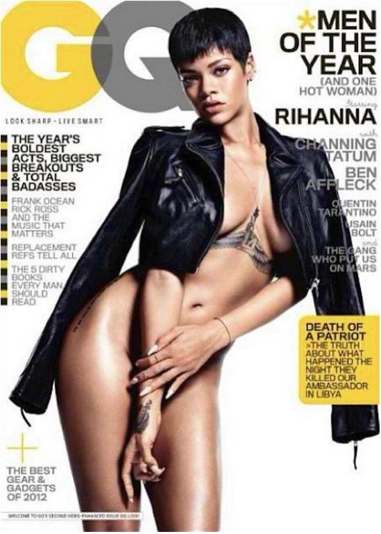 Rihanna GQ