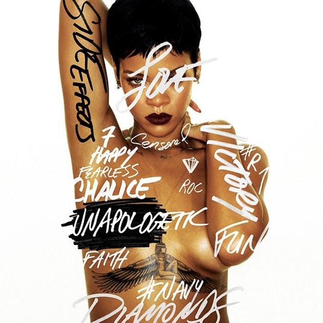 Rihanna Unapologetic album cover