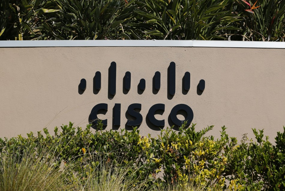 Cisco office sign