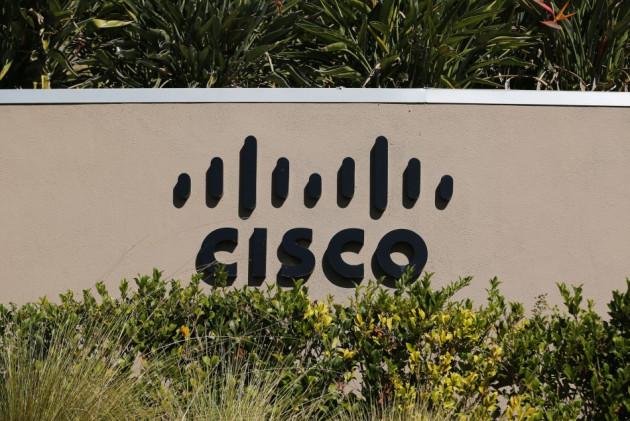 Cisco office sign