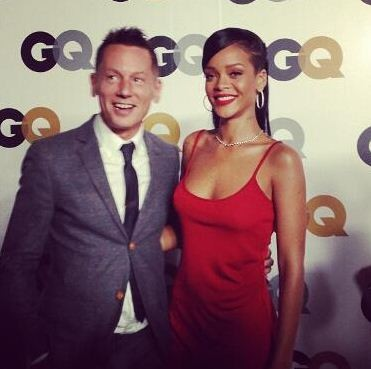 Rihanna at GQ Men of the Year Party 2012