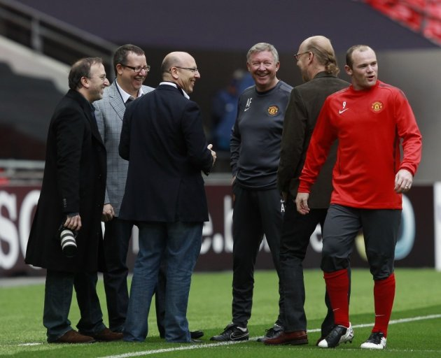 The Glazers at Old Trafford