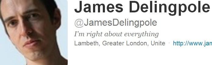 Delingpole on Twitter