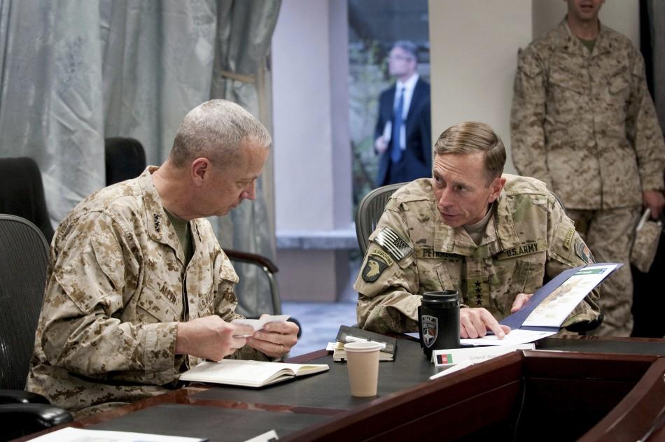Allen and Petraeus