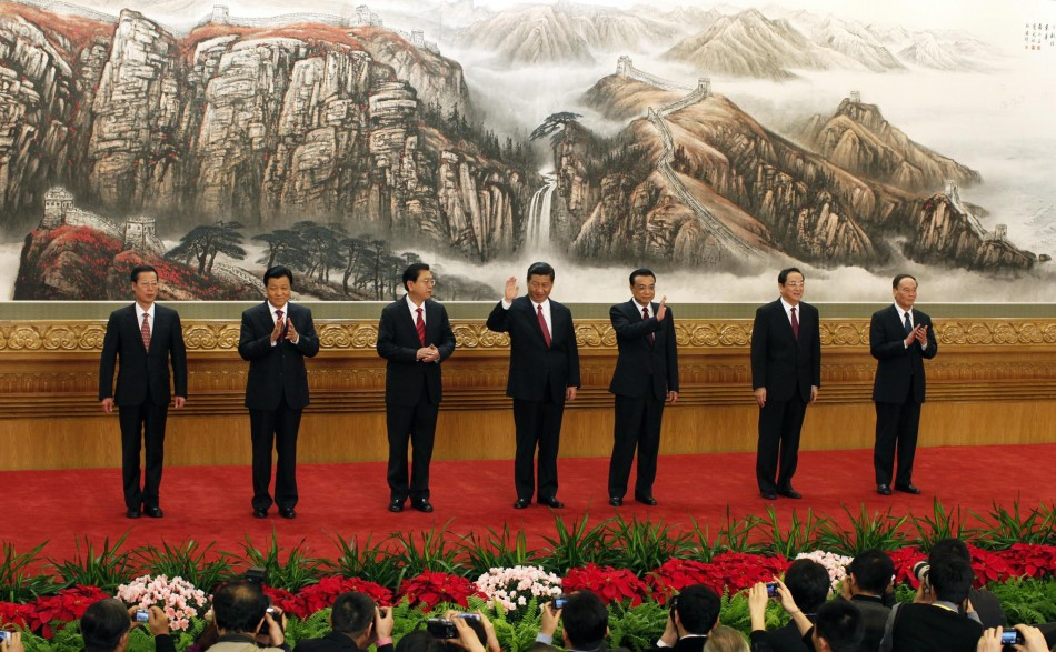 China's new Politburo