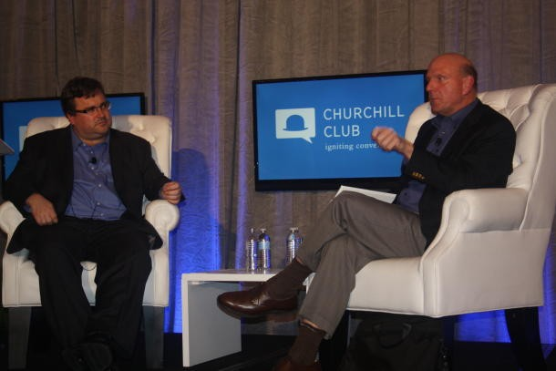 Steve Ballmer Churchill Club