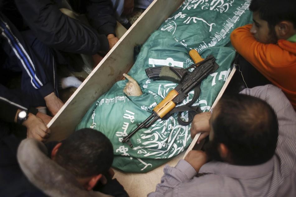 Palestinian Mourn