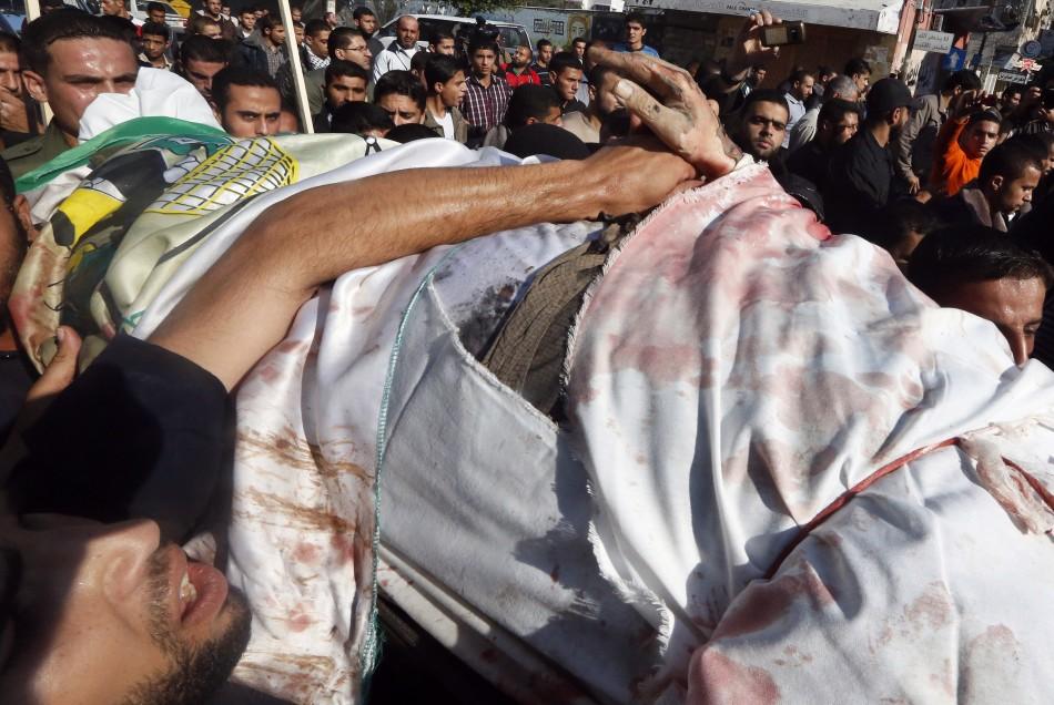 Ahmed Al-Jaabari's Funeral