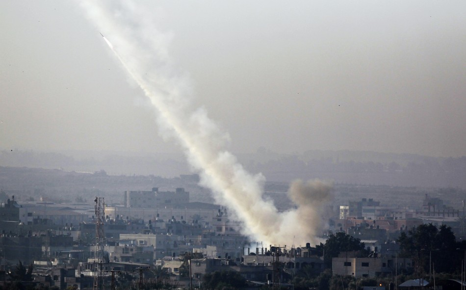 Fire from Gaza