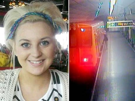 Georgia Varley was killed when she fell between a train and the platform at James Street station in Liverpool (Facebook/CPS)