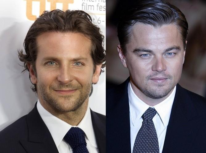 Bradley Cooper and Leonardo DiCaprio