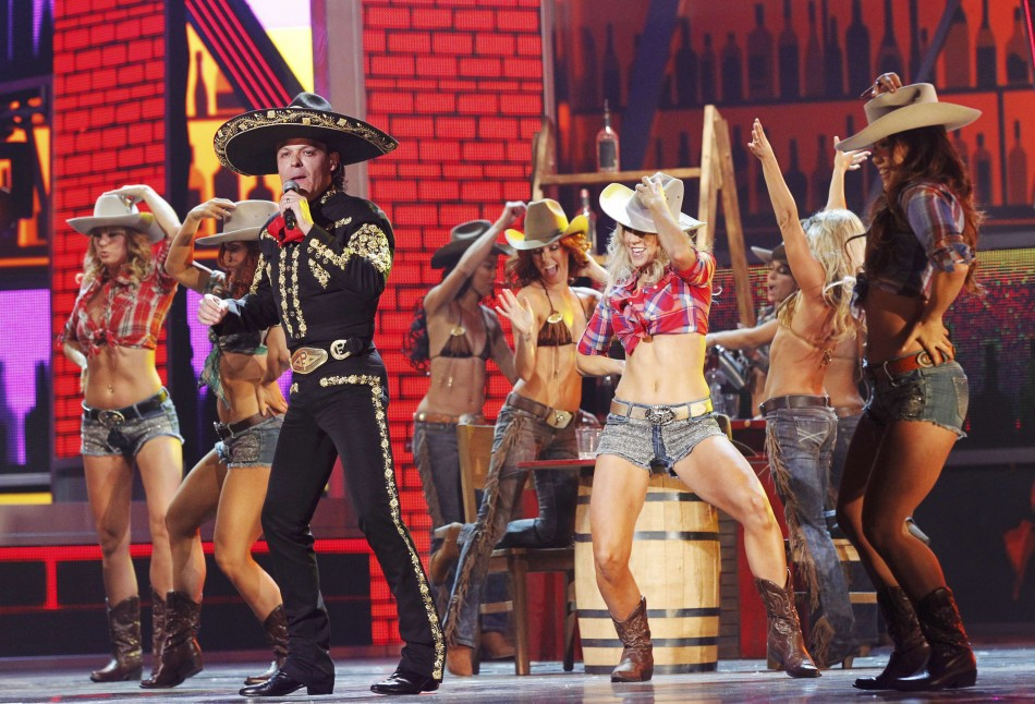 Fernandez performs during the 13th Latin Grammy Awards in Las Vegas