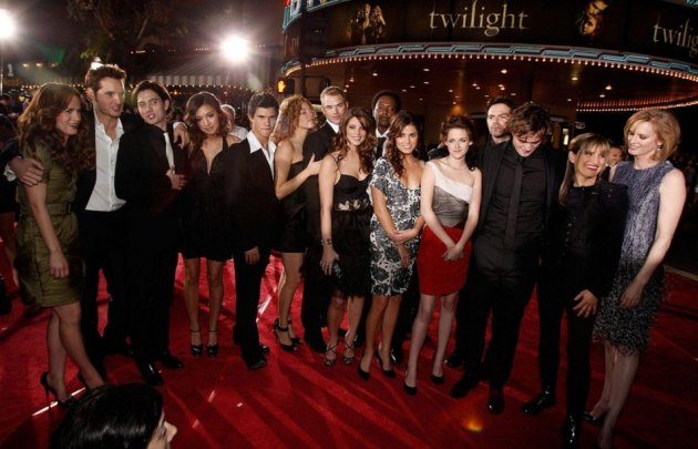 The very first Twilight premiere in 2008