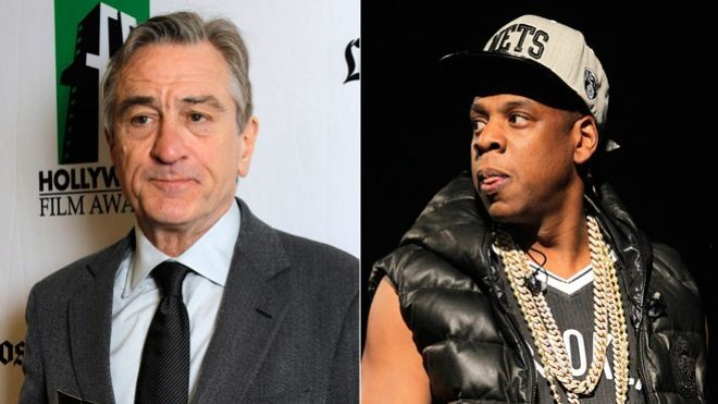 Robert De Niro and Jay Z beef