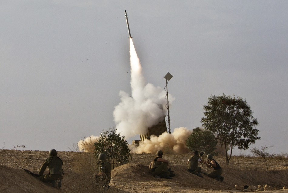 Iron Dome interceptor rocket