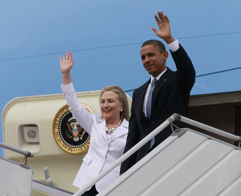 Obama Arrives in Burma