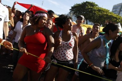 Rio Gay Pride March 2012