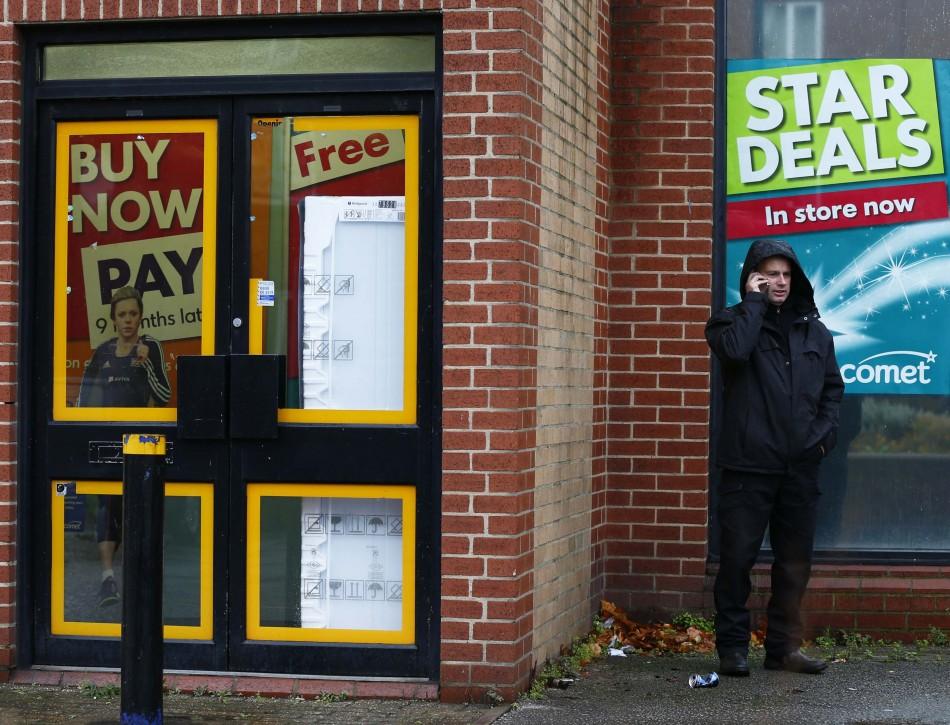UK Retail vacancy