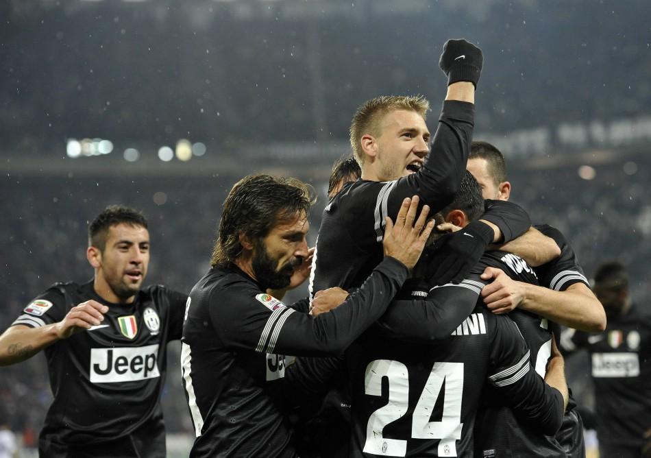 Nicklas Bendtner is now on loan at Juventus