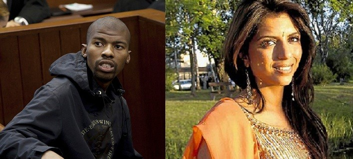Xolile Mngeni (L) has been found guilty of the murder of Anni Dewani (Reuters)