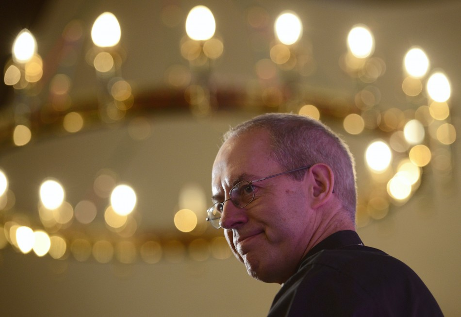 Newly appointed Archbishop of Canterbury, Rt Rev Justin Welby, has expressed his support for woman bishops (Reuters)