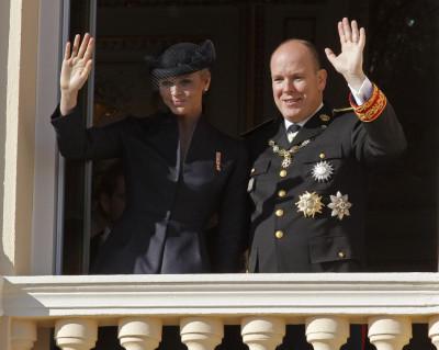 Princess Charlene, Prince Albert Celebrate Monaco National Day